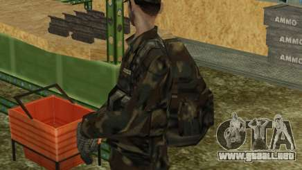 Parachute Military Retexture para GTA San Andreas