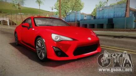 Toyota GT86 2012 Asuka Langley Itasha para GTA San Andreas
