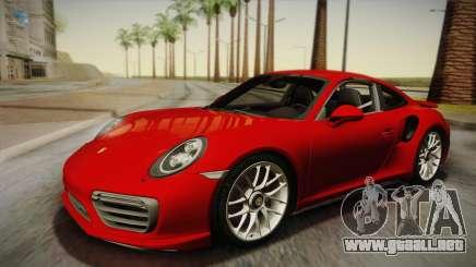Porsche 911 Turbo S 2017 para GTA San Andreas