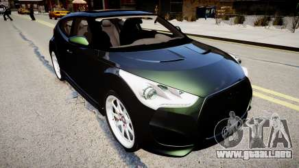 Hyundai Veloster Turbo 2012 vs 2.0 by Mauricio para GTA 4