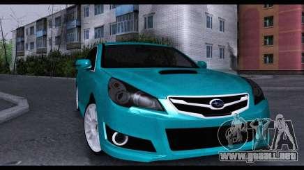 Subaru Legacy B4GT 2010 para GTA San Andreas