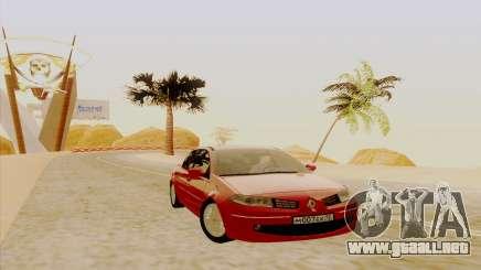 Renault Megane para GTA San Andreas