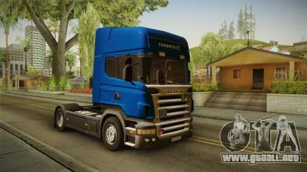Scania V8 para GTA San Andreas