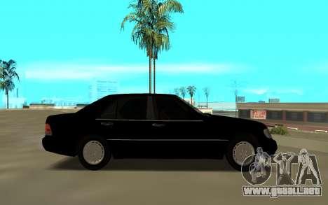 Mercedes-Benz 600SEL W140 para GTA San Andreas left