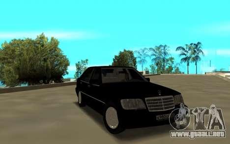 Mercedes-Benz 600SEL W140 para GTA San Andreas