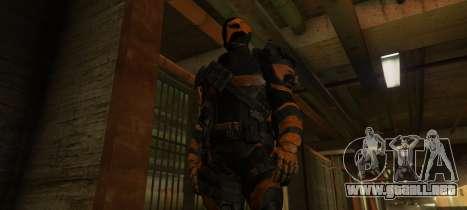 GTA 5 Deathstroke - Joe Manganiello tercera captura de pantalla