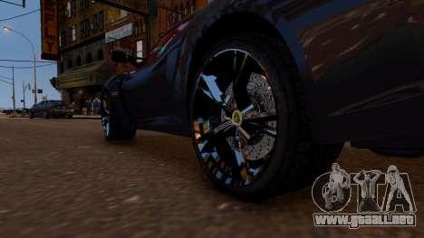 Lotus Exige Cup 360 para GTA 4 vista hacia atrás