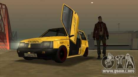 VAZ 1111 Oportunidad para GTA San Andreas vista posterior izquierda