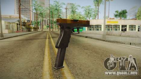 Desert Eagle Gold para GTA San Andreas