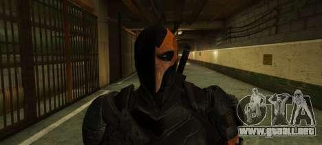 GTA 5 Deathstroke - Joe Manganiello segunda captura de pantalla