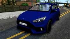Ford Focus 2017 para GTA San Andreas