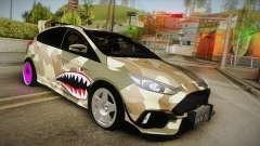 Ford Focus RS 2017 4x4 Drift para GTA San Andreas
