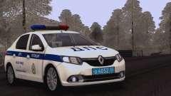 Renault Logan SOBRE la policía de tráfico para GTA San Andreas