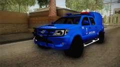 Toyota Hilux Turkish Gendarmerie Vehicle para GTA San Andreas