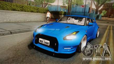 Nissan GT-R Street Race para GTA San Andreas