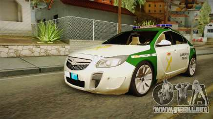 Opel Insignia De La Guardia Civil De Tráfico para GTA San Andreas