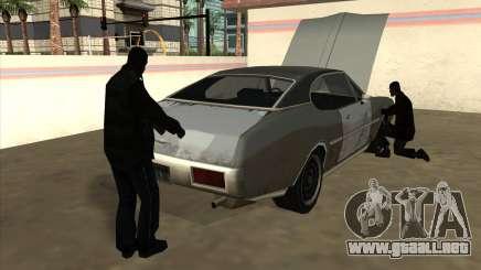 Situación de la vida v6.0 - Estación de gasolina para GTA San Andreas