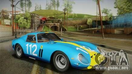 Ferrari 250 GTO (Series I) 1962 HQLM PJ2 para GTA San Andreas
