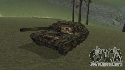 Rhino woodland camo para GTA San Andreas