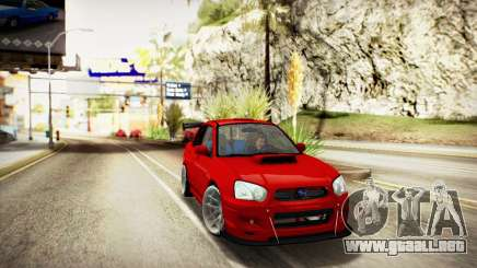 SUBARU IMPREZA WRX STi (IVF 2.0.2) para GTA San Andreas