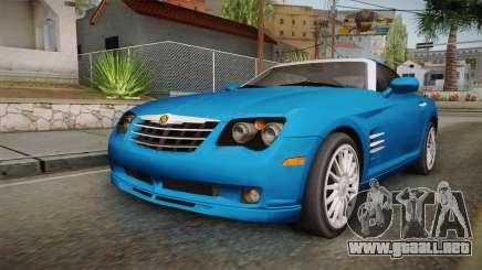 Chrysler Crossfire SRT-6 2006 para GTA San Andreas
