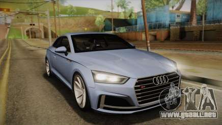 Audi S5 2017 para GTA San Andreas