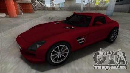 2010 Mercedes-Benz SLS AMG FBI para GTA San Andreas