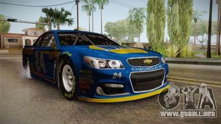 Chevrolet SS Nascar 24 NAPA 2017 para GTA San Andreas