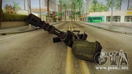 Minigun para GTA San Andreas