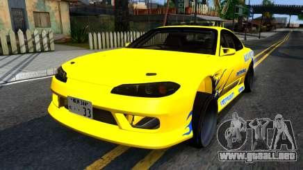 Nissan Silvia S15 Huxley Motorsport para GTA San Andreas