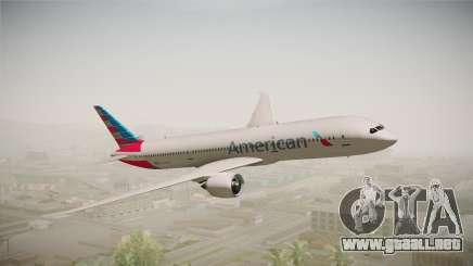 Boeing 787 American Airlines para GTA San Andreas