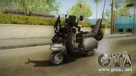 GTA 5 Pegassi Faggio Extreme Tuning v3 para GTA San Andreas