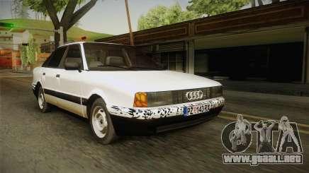Audi 80 B3 V8 para GTA San Andreas
