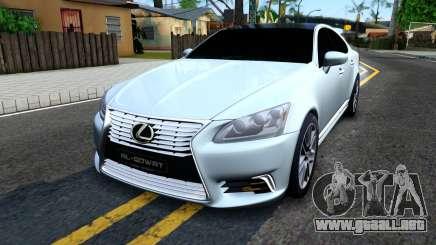 Lexus LS XF40 para GTA San Andreas