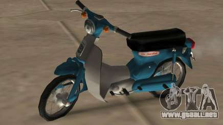Honda Super Cub Modificado para GTA San Andreas