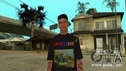 Skin VLA-1 Armenian V4 para GTA San Andreas