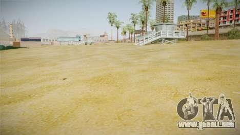Beach of Santa Maria in HD and HQ v0.1 para GTA San Andreas segunda pantalla