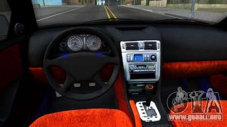 Mitsubishi Galant VR-4 para visión interna GTA San Andreas