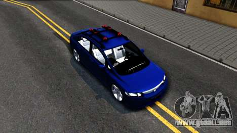Honda Civic para la visión correcta GTA San Andreas
