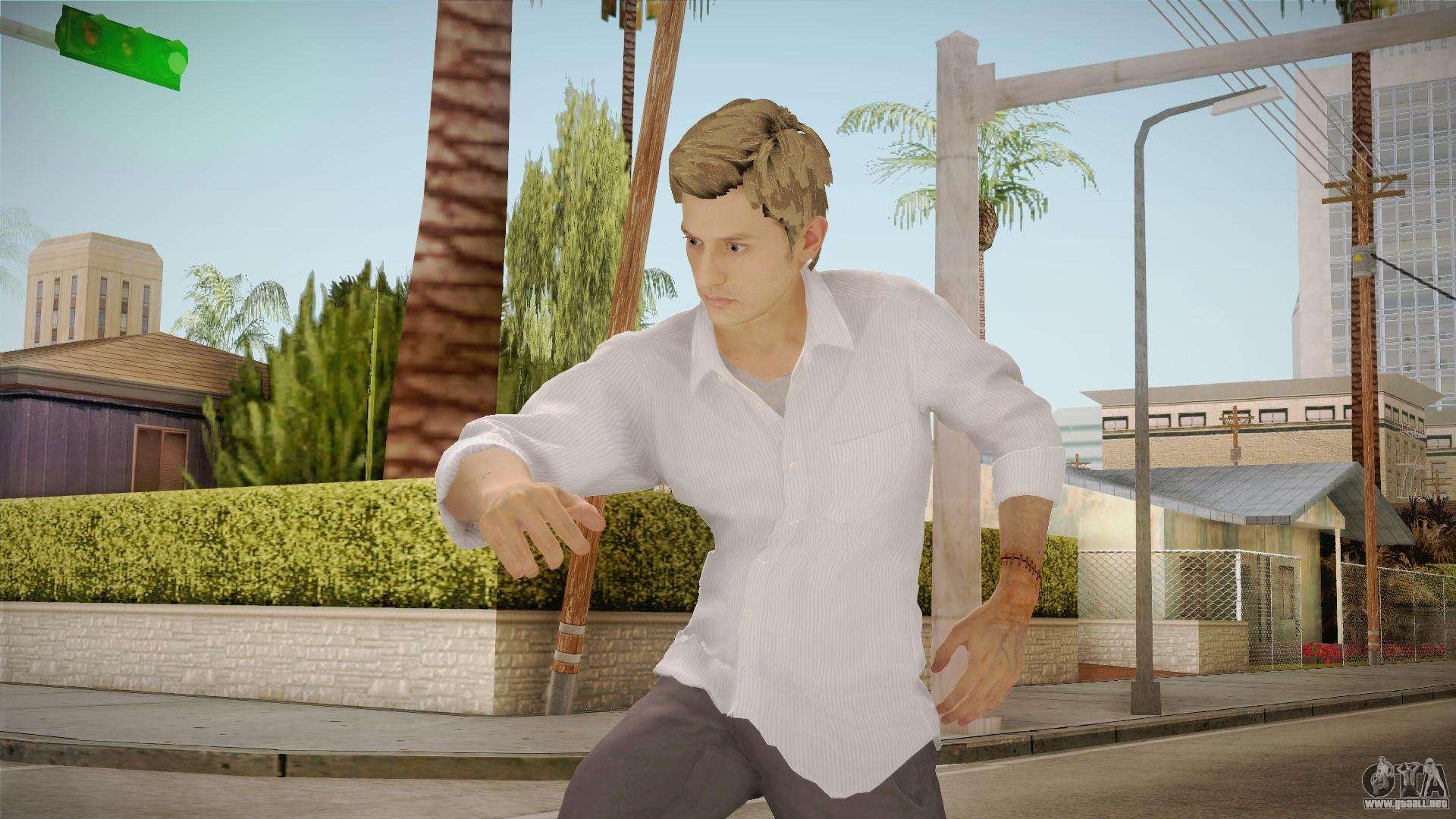 Resident Evil 7 Ethan Winters Para Gta San Andreas