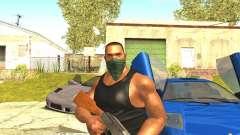 Remasterizado Cj Piel HD 2017 para GTA San Andreas