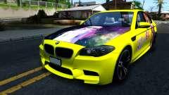 "BMW M5 F10 ""Sakurasou no Pet na Kanojo Itasha"" para GTA San Andreas"