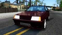 VAZ 2108 Borgoña para GTA San Andreas