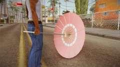 Alice Cartelet Umbrella para GTA San Andreas