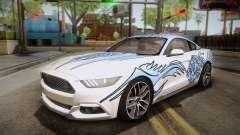 Ford Mustang GT 2015 5.0 PJ para GTA San Andreas