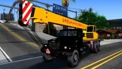 KrAZ-257 Camión Grúa para GTA San Andreas