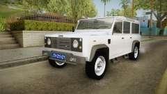 Land Rover Defender 110 Policija Undercover para GTA San Andreas