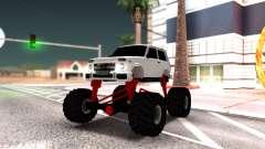 Vaz 2121 Monster Armenian para GTA San Andreas