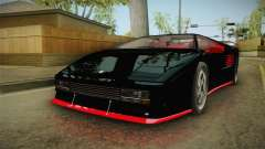 GTA 5 Pegassi Infernus Classic IVF para GTA San Andreas