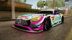 Mercedes-Benz AMG GT3 Goodsmile Racing 2017 para GTA San Andreas
